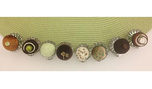 Pralinenclips-grün-set