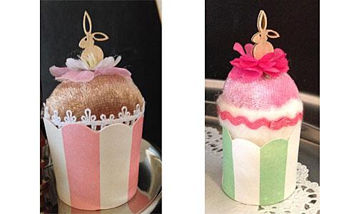 Osterhasen-Cupcake
