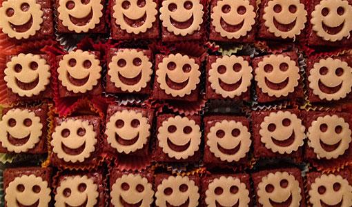 Lebkuchen-Smile